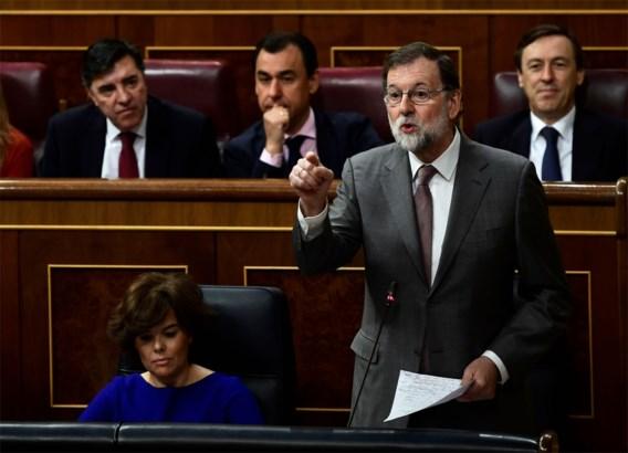 Rajoy denkt niet aan aftreden