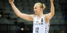 Franse basketcompetitie zet Ann Wauters in de bloemetjes