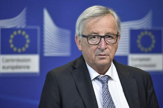 Jean-Claude Juncker: 'Als ik aan Trump denk, ben ik even de draad kwijt'