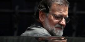 Motie van wantrouwen tegen regering Rajoy heeft morgen zo goed als zekerheid meerderheid in parlement
