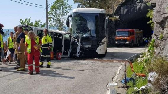 Vijf Belgen gewond na zwaar verkeersongeval in Noorwegen