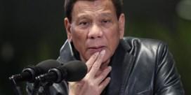 Duterte tegen Verenigde Naties: 'Loop naar de hel'