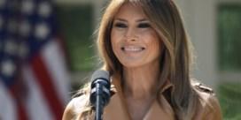 Melania Trump maakt publieke rentree