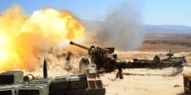 Bombardementen op wapendepots in Syrië