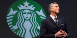 Sterke man achter Starbucks stapt op
