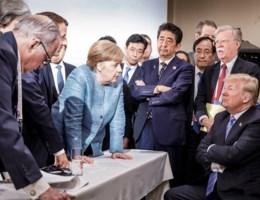 'Trump hield litanie over oneerlijke behandeling VS'