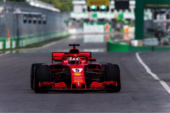 Sebastian Vettel grijpt leiding in F1-kampioenschap