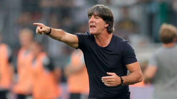 """Ongerustheid in Duitsland groeit, Löw waarschuwt en neemt zelfs woord """"middelmatig"""" in de mond"""