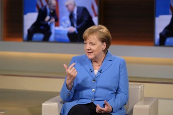Merkel: 'Terugtrekking via tweet is beetje deprimerend'