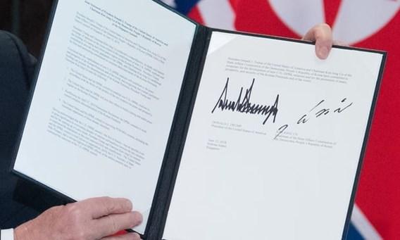Wat staat er in het ondertekende document?