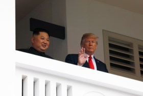 'Kim Jong-un engageert zich voor volledige nucleaire ontwapening Noord-Korea'