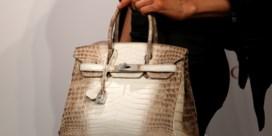 Tweedehands handtas verkocht voor monsterbedrag