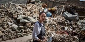 Angelina Jolie in Mosoel: 'Ergste verwoesting die ik ooit zag'