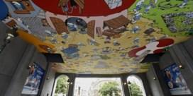 Overal Smurfen in Brussel: Atomium kleurt blauw, eindelijk stripmuur