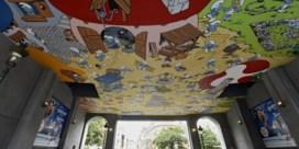 Smurfplafond ontsmurfd in Brussel
