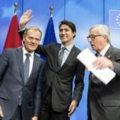 Vlaams Parlement zet als eerste licht op groen voor Ceta