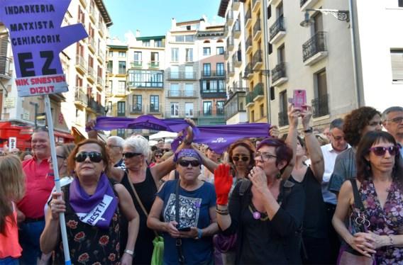 Straatprotest in Spanje na vrijlating 'wolf pack'