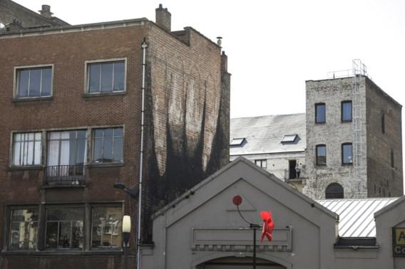 Brussel heeft er opnieuw een seksueel getinte muurschildering bij