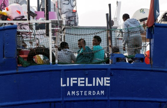 Boot met 230 migranten welkom in Malta