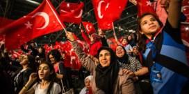 Belgische Turken stemden opnieuw massaal op Erdogan
