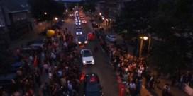 Erdogan-aanhangers belagen pers en wagens in Heusden-Zolder