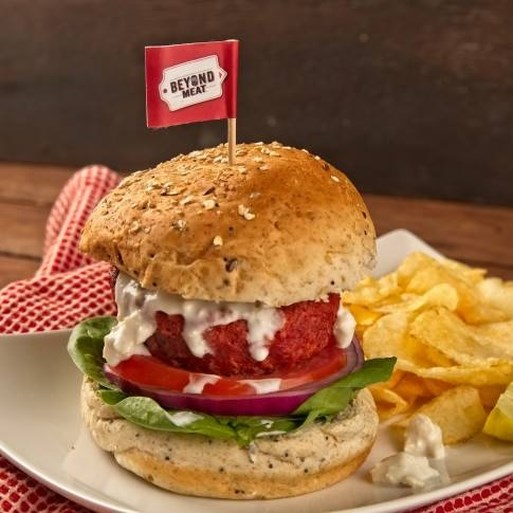 Hamburger zonder vlees voor het eerst in België