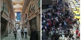 Trumps economische sancties jagen Iraniërs de straat op