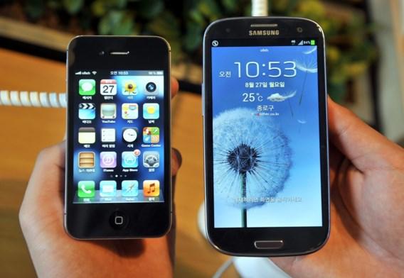 Apple en Samsung leggen iPhone-ruzie eindelijk bij
