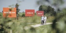 Kunstwerk in Watou beschadigd nog voor officiële opening