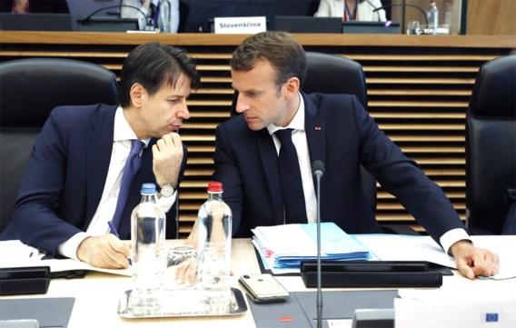 Frankrijk en Italië botsen al over migratieakkoord