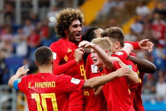 België-Japan derde best bekeken WK-match ooit