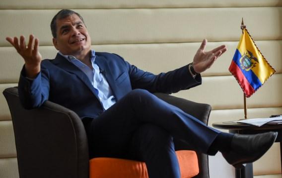 Aanhoudingsbevel tegen voormalige Ecuadoraanse president Correa