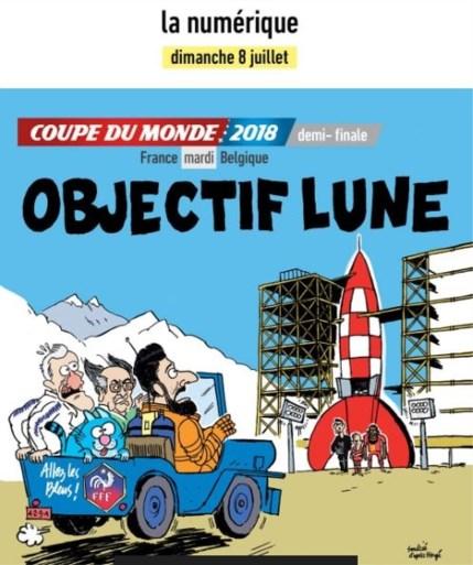 Kuifje en Asterix bereiden Fransen voor op halve finale tegen Rode Duivels