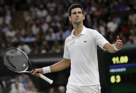 Hoogstaande halve finale tussen Djokovic en Nadal op Wimbledon stopgezet