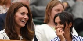 Meghan Markle en Kate Middleton samen naar Wimbledon
