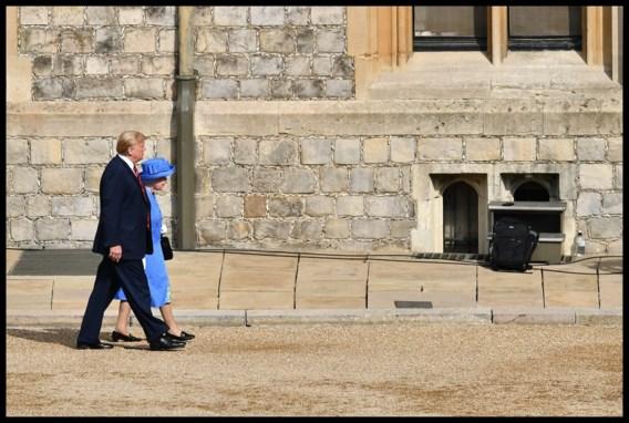 Trump klapt uit de biecht over gesprek met Queen