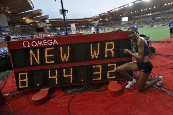 Keniaanse Beatrice Chepkoech loopt wereldrecord op 3.000 meter steeple op Diamond League Monaco