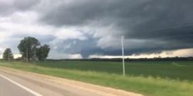 Verschillende tornado's razen door klein Amerikaans dorp
