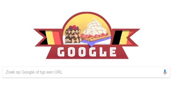 Google viert mee op nationale feestdag
