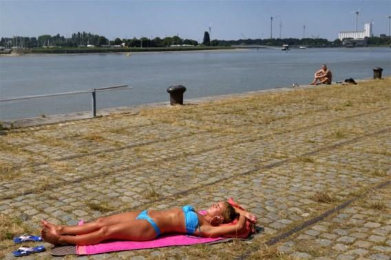 Warme zomerse dag met kans op onweer in de Ardennen