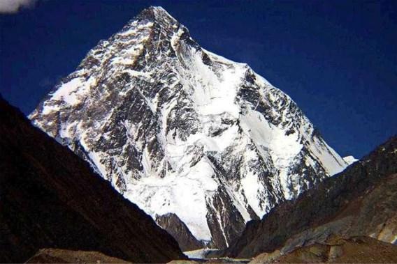 Voor het eerst bereikt Belg top van de 'Savage Mountain'