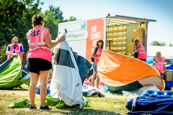 Achtergelaten kampeermateriaal Tomorrowland binnenkort te huur
