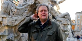 Trump-strateeg Steve Bannon put uit omstreden arsenaal