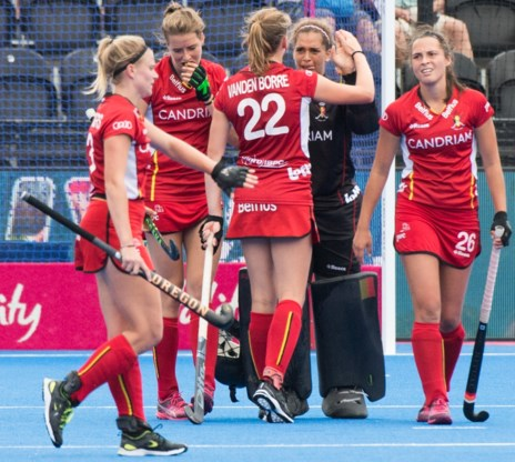 België pakt tegen Australië eerste punt op WK hockey dankzij doelvrouw Aisling D'Hooghe
