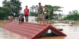 Honderden vermist na instorting dam in Laos