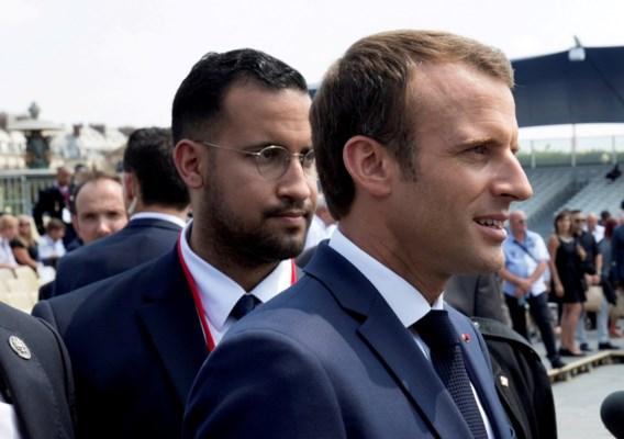 Macron verbreekt de stilte over affaire Benalla: 'Ik ben de enige verantwoordelijke'