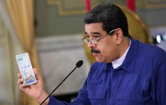 Venezuela gaat gierende inflatie te lijf door vijf nullen te schrappen