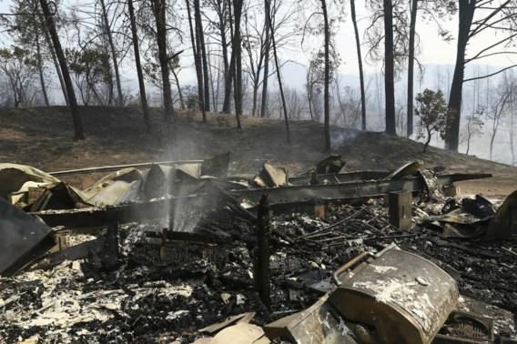 Branden leggen tienduizenden hectare bos in Californië in de as