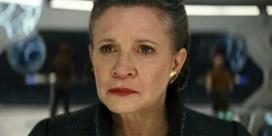 Carrie Fisher doet opnieuw mee in laatste Star Wars