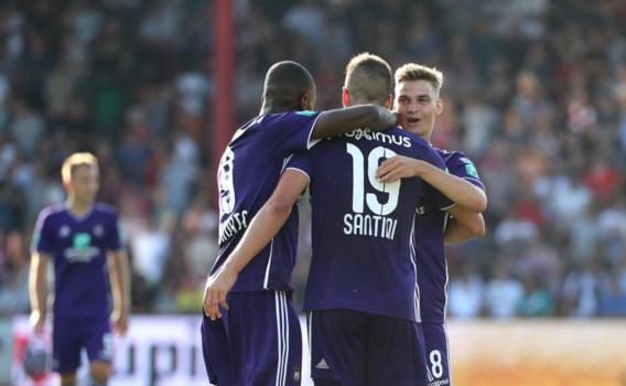 Vernieuwd Anderlecht neemt verpletterende start
